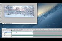 Maak geanimeerde GIF met sneeuw - hoe het werkt
