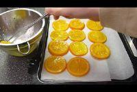 Gekonfijte sinaasappels - hoe het werkt