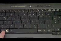 Toetsenbord aangepast: nummers in plaats van letters - zodat je de lay-out weer te veranderen