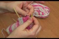 Sokken breien hiel - Instructies