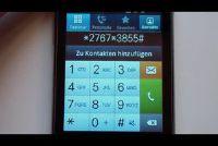 De Samsung S5230 reset uitvoeren - dus gaat de sneltoets