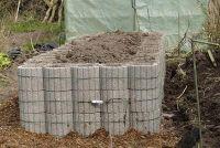 Maak Raised Bed - blauwdrukken voor een versie van beton