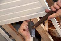 Verlaagde plafonds met hout