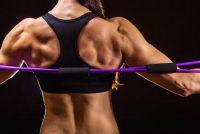 Rond de achterkant - zodat je je rug met oefeningen versterken