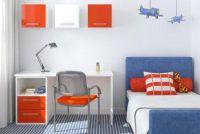 Nursery - kleuren kiezen voor het schilderen geschikt voor kinderen