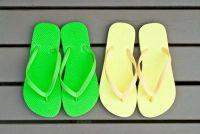 Maak schoenen zelf - dus ga je voor flip-flops