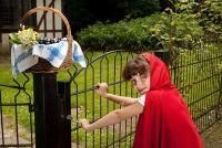 Maak kostuum zelf voor een vakantie - Little Red Riding Hood