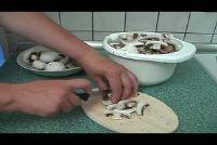 Mushrooms roast - een Recept