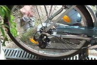 Verwijder roest op de fiets - hoe het werkt