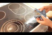 Reinig keramische kookplaat - hoe het werkt goed