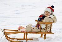 Met kinderwagen sneeuw en ijs veilig - dat u moet zich bewust zijn
