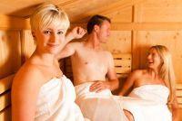 Als een vrouw in de sauna - wat moet nota van de