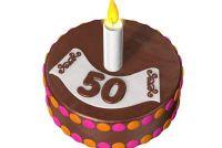 Gift voor de 50e verjaardag - verrukking de vader