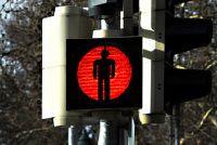 Verkeerslichten rood en groen - dus je kinderen te vertellen hoe belangrijk
