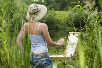 Geef zelf geschilderde beelden - zodat u snel leren de basisprincipes van de schilderkunst