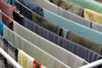 Het wasgoed drogen buiten in de winter?  - Voordelen en nadelen