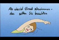 Uit hoeveel graden om te zwemmen - dat u moet zich bewust zijn