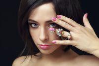 Ringen dragen top van de vinger - Knuckle Rings