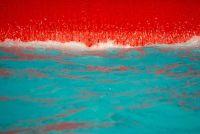 Interpreteer zwembad met tegels - hoe het werkt