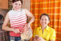 Gebruik bakvorm goed te bakken - hoe het werkt