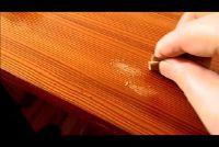Clean houten tafels - dus je het goed doen