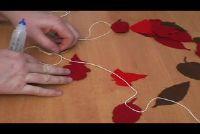Herbstdeko knutselen - hoe het werkt zonder natuurlijke materialen