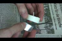 Waxinelichtjes sleutelen - Aanwijzingen voor geur kaarsen