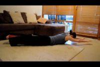 Oefeningen voor het lichaam spanning