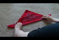 Beierse kostuums: stropdas sjaal - hoe het werkt