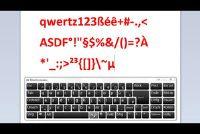 Keyboard - gebruiken tekens en symbolen correct
