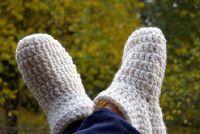 Haak slipper sokken - zo slaagt's