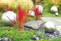 Waterbak van roestvrij staal voor de tuin