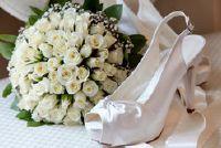 Bruidsboeket in wit - zo werkt de bloemen keuze