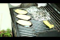 Zucchini barbecue - een vegetarisch recept