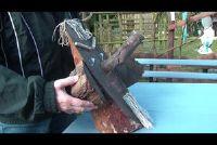 Build houten cijfers voor de tuin zelf - hoe het werkt