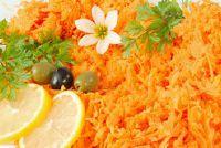 Wortel salade met dressing - een recept met slagroom