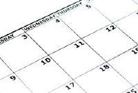 Bereken dagen per jaar, zonder weekend en op feestdagen