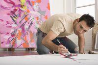 Schilderen op doek met verf