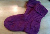 De hak van een sok stricken- Strickanleitung