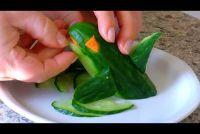 Het snijden van groenten - een trend van de moderne keuken