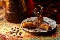 Turkse producten ontworpen make - recept voor Turkish delight