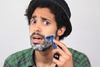 Shave eerste keer - dus je zal je vader-zoon relatie te versterken