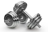 Oefeningen met halters - train je je triceps