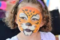 Als een make-up Panther - Ideeën voor ham van kinderen
