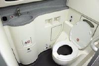 Aircraft wc - Waar om de inhoud te zetten?