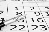 Maak bevruchting kalender - dus het zou kunnen werken met de wens om kinderen te krijgen