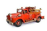 Brandweer auto - zodat je het schilderen van een grens met brandweerlieden motieven
