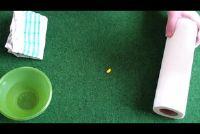 Verwijder kleur uit het tapijt - hoe het werkt