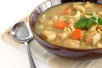 Cook kip - dus voor te bereiden op een soep