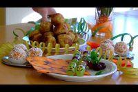 Vegan Party Snacks - fruitig, hartig, zoete